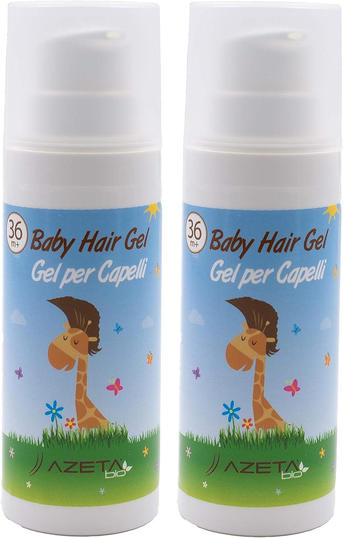 Gel para el cabello ***Nuevo formato 2020*** - AZETABIO - Línea Niños 2 Gel formato AIRLESS