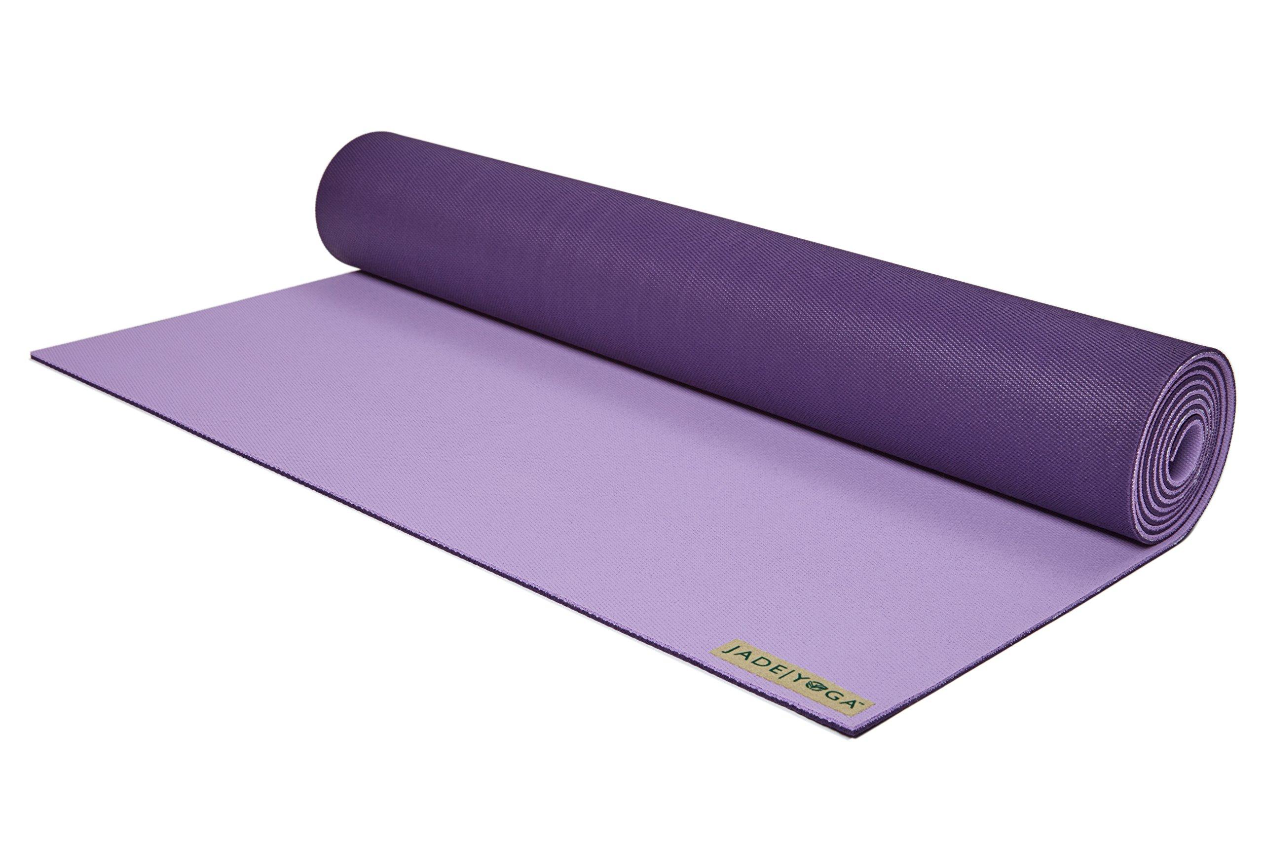 Jade Yoga Harmony 71-Inch Yoga Mat (Lavender/Purple)