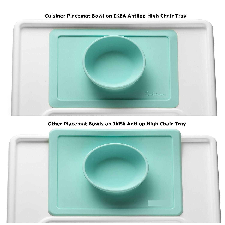 "Amazon.com: Mini Silicone Placemat Bowl 10.2""x7.5""x1.75"" - Upgraded ..."