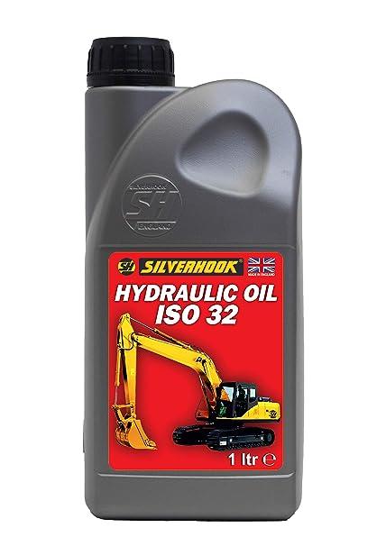 Silverhook shrh1 ISO 32 Aceite Hidráulico, 1 litro: Amazon.es ...