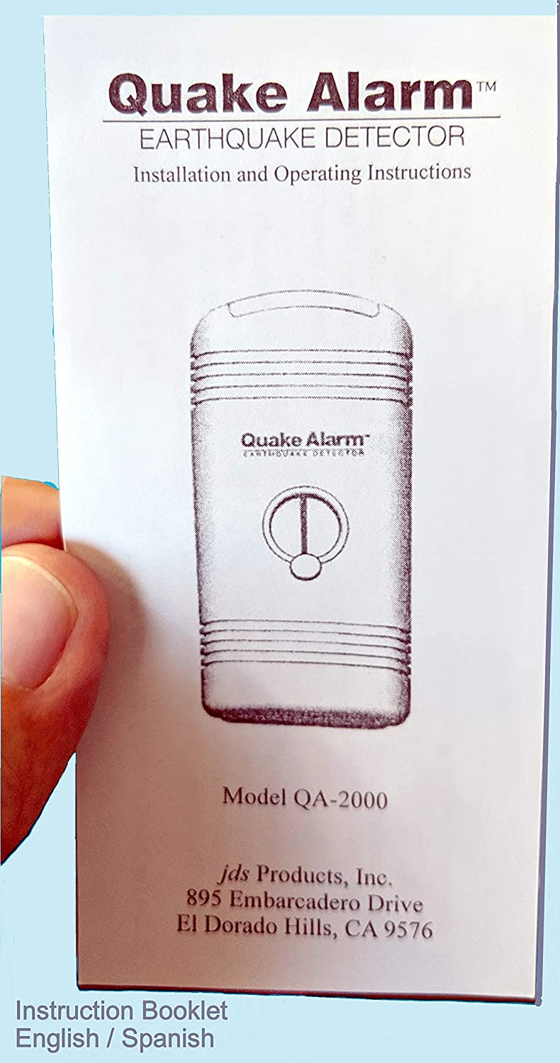 Quake Alarm - US Patent #5,475,372. Model JDS QA-2000 Featured on Los Angeles ABC-7 News. Can Wake You up so You Will be Instantly alerted. When ...