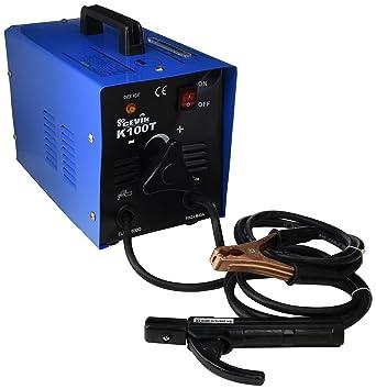 Cevik CE-K100 - Equipo de Soldadura 100 A. Electrodos de 1,6 a 2,50 ...