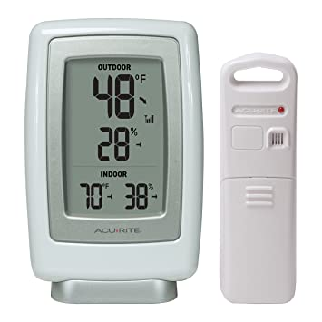 AcuRite 00611A3 Wireless Indoor/Outdoor Thermometer and Humidity ...