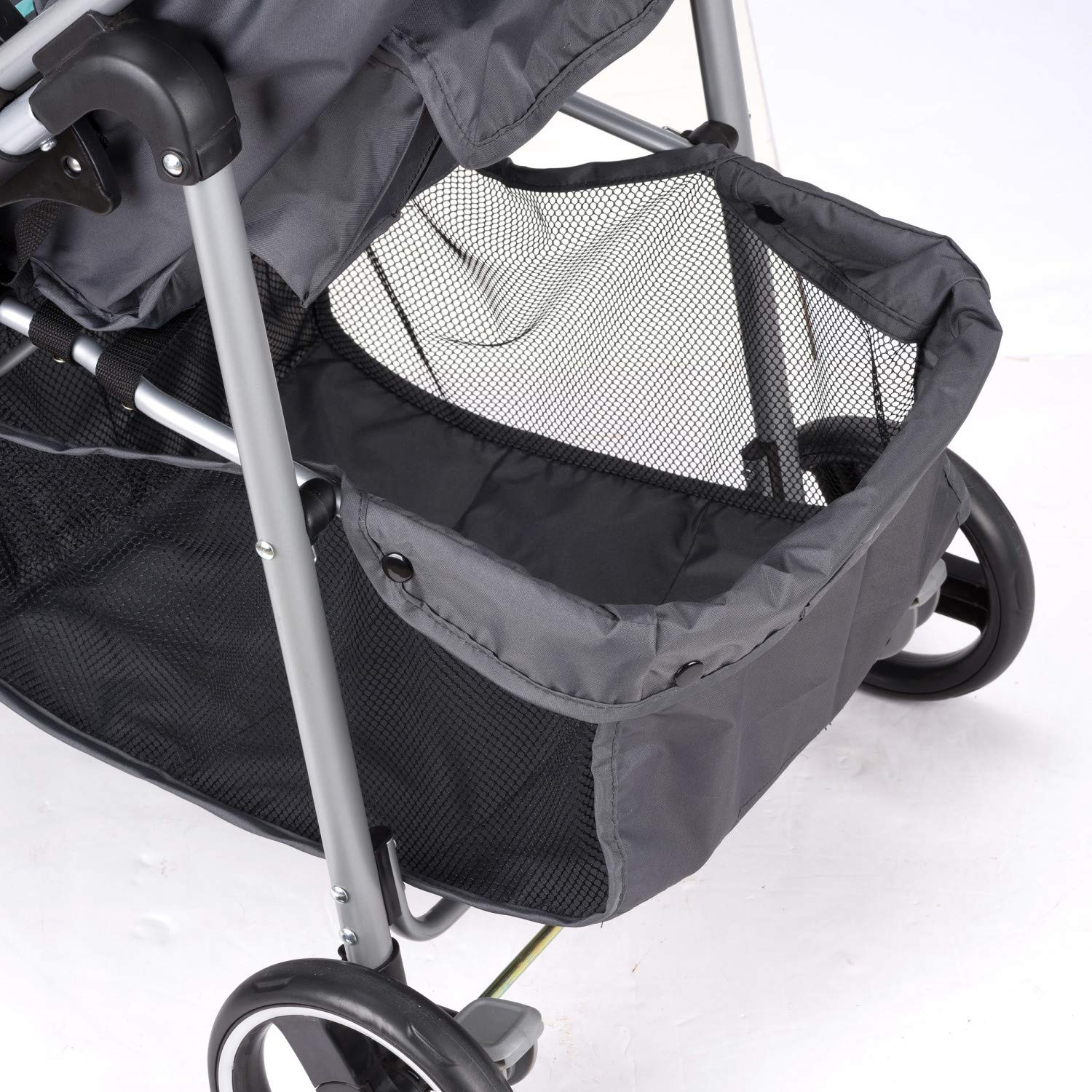 Evenflo Vive Travel System with Embrace Infant Car Seat, Spearmint Spree by Evenflo (Image #11)