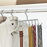 iDesign Axis Metal Hanger, Hanging Closet
