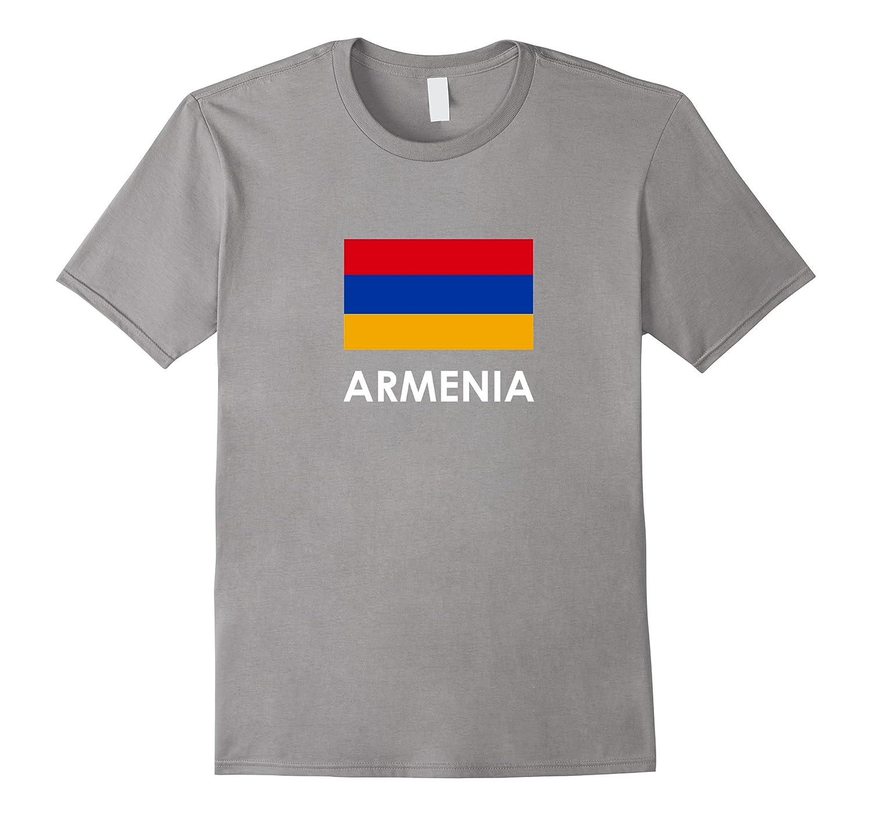 Armenia Flag T Shirt for Armenians Loving Americans-TH