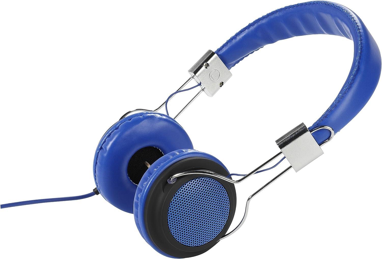 Vivanco Col 400 Blue Street Style Kopfhörer Mit Elektronik