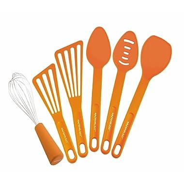 Rachael Ray Tools 6-Piece Tool Set, Orange - 55737