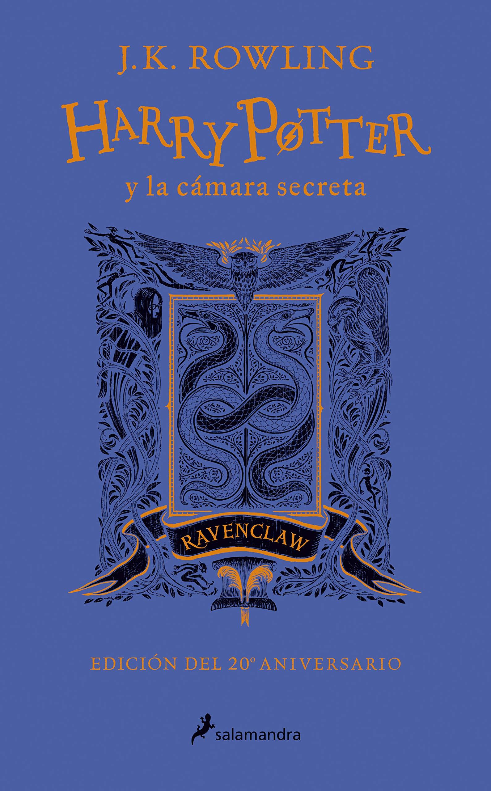 Harry Potter y la cámara secreta edición Ravenclaw del 20º ...