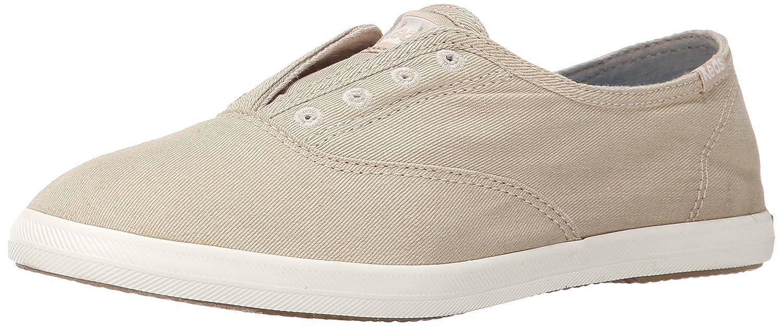 Keds Women's Chillax Washed Laceless Slip-On Sneaker B00MC3QYQC 6.5 B(M) US|Taupe