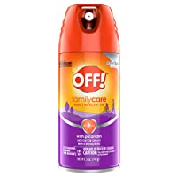 OFF! Family Care Insect & Mosquito Repellent VII, Bug Spray with Picaridin, Not...