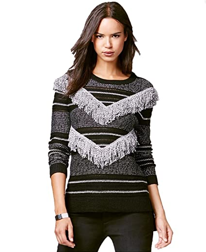 2b3085e564 Rachel Rachel Roy Womens Fresh Wool Blend Fringe Pullover Sweater B ...