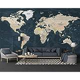 Murals XXL images world map Flower Fleece Canvas Picture art print 023212P