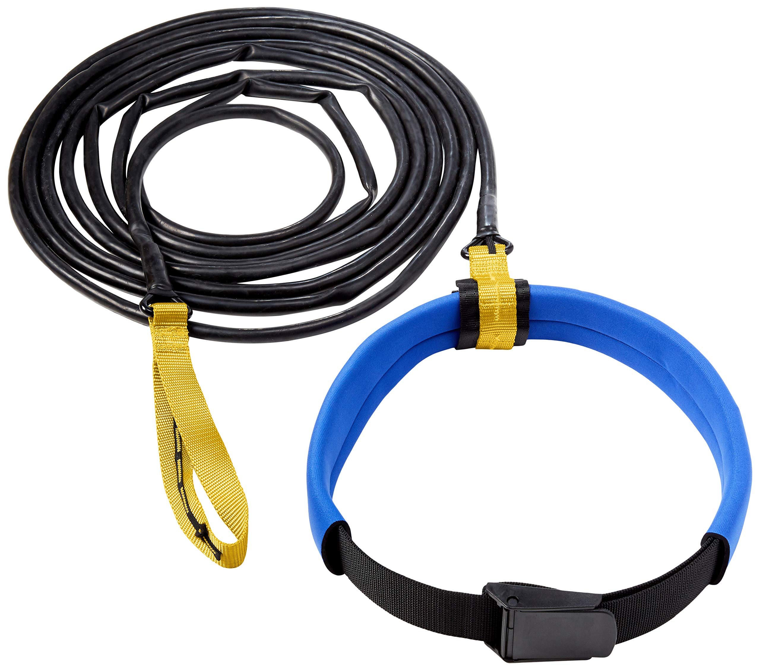 StretchCordz Long Belt Slider, Yellow Strap Handle