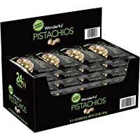 24-Pack Wonderful Pistachios Roasted and Salted Pistachios, 1.5 Ounce