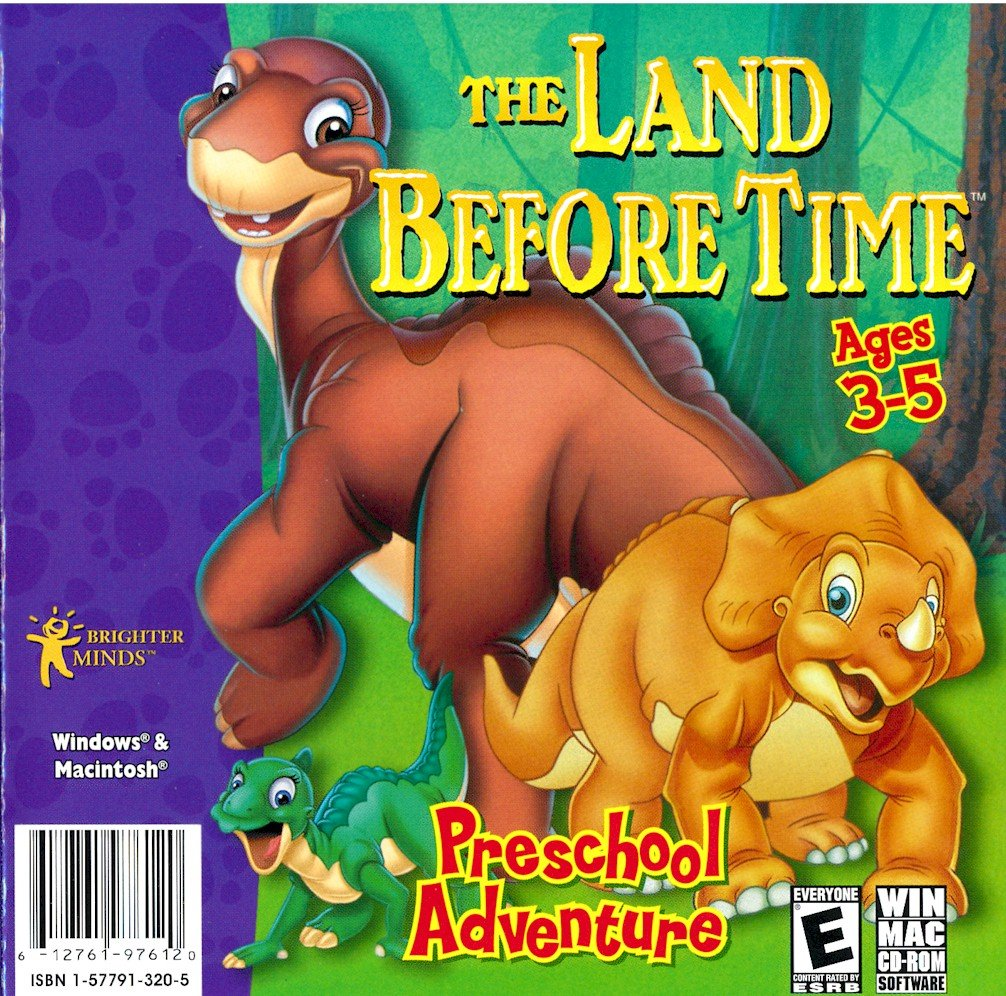 amazon com the land before time preschool adventure software