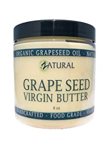 GrapeSeed Butter-Food Grade_100% Pure Ingredients_0 Fillers and 0 Artificial Ingredients (8 Ounce)