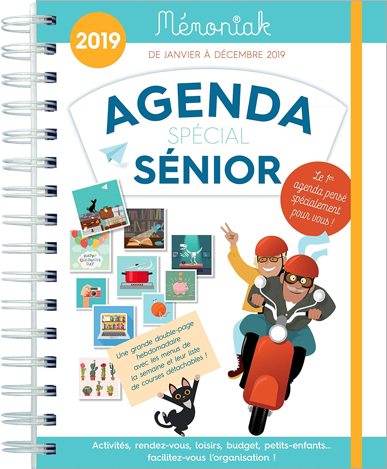 Agenda Special Senior memoniak 2019: Collectif: Amazon.es ...