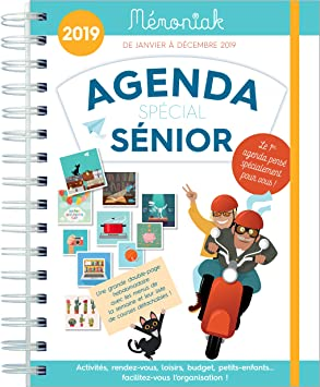 Agenda Special Senior memoniak 2019: Collectif: Amazon.es ...