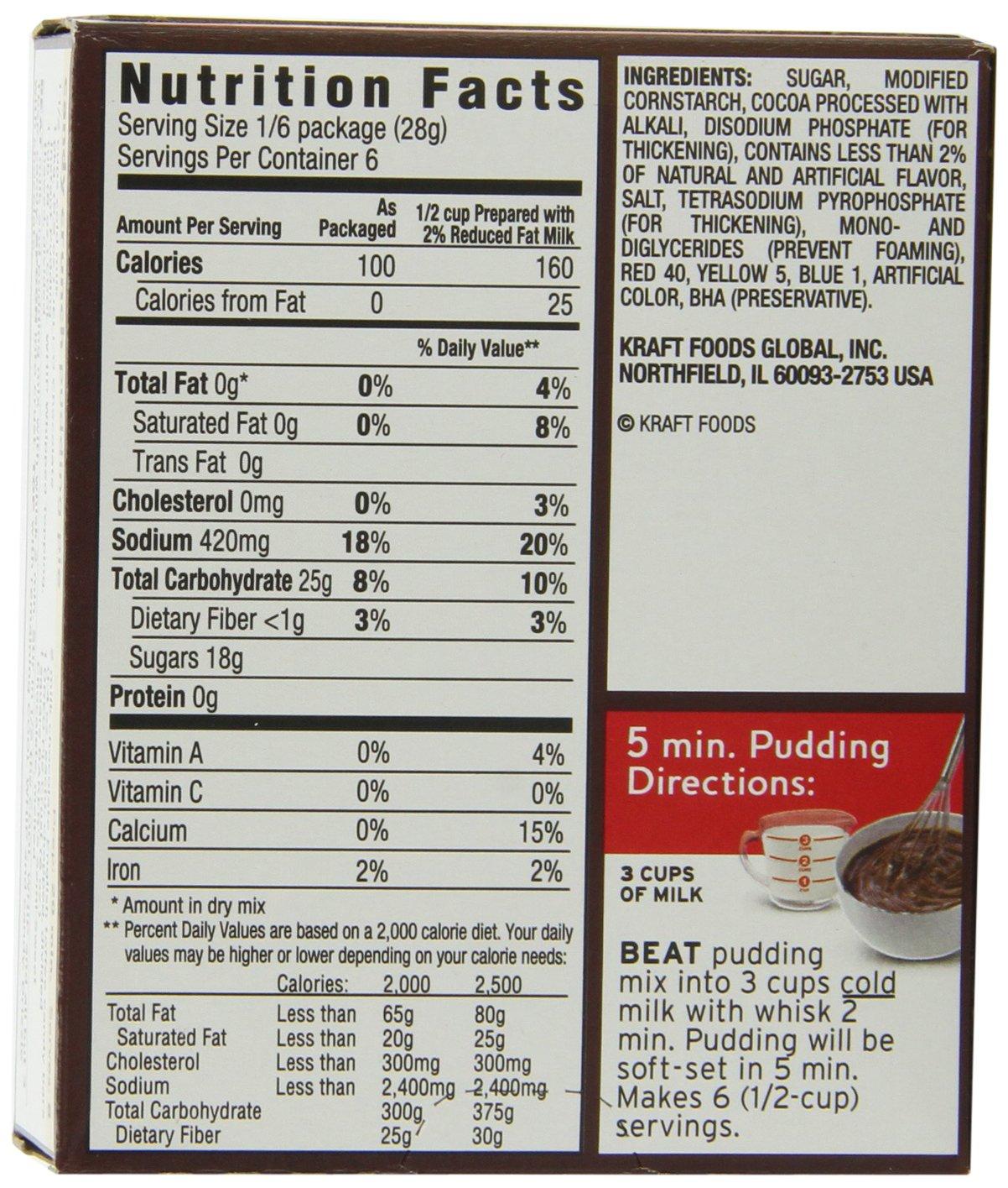 jello instant pudding directions 5.1 oz
