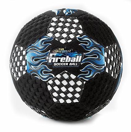 Amazon.com: zona de agarre 8,5 Fireball azul Balón de fútbol ...