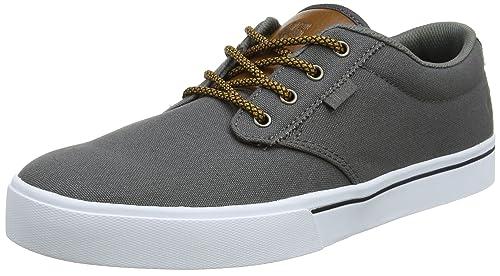 Etnies Jameson 2 Eco, Zapatillas de Skateboard para Hombre, Gris (554-Black/Charcoal/Silver), 38.5 EU Etnies
