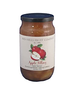 Red Hills Fruit Company Pie Filling, Tart Apple, 29 Ounce (Pack of 4)