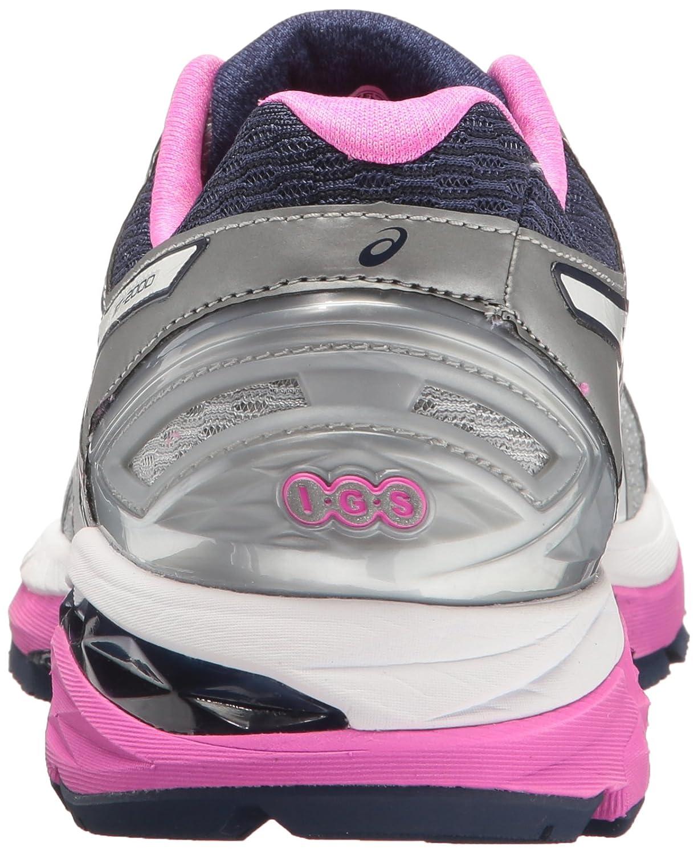 ASICS Women's Gt-2000 5 Running Shoe B01G6AIYGE 11.5 2A US Mid Grey/White/Pink Glow