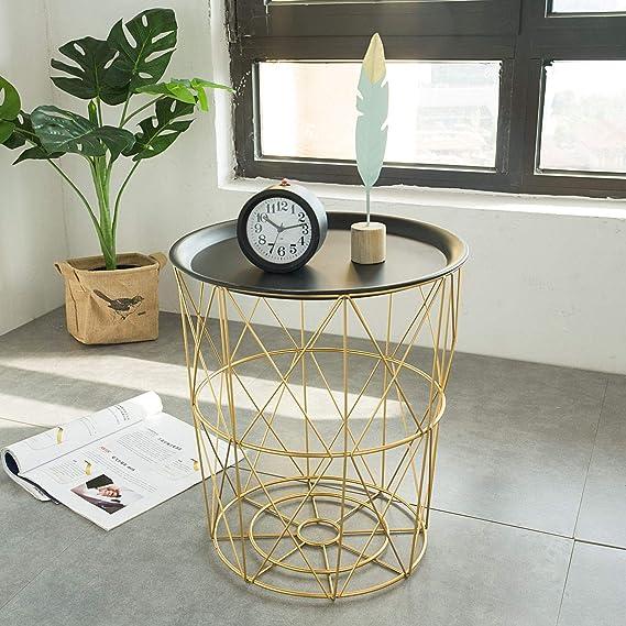Amazon.com: Ge-Store - Mesas de café modernas de hierro para ...