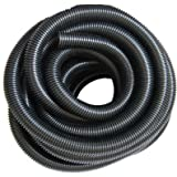 1.25 Inch (32mm) Black Corrugated Flexible Hose Fish Pond Pump Marine Flexi Pipe (5 Metre)