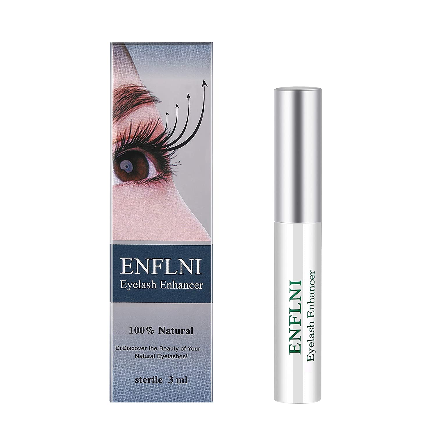a0d0b391c86 Amazon.com: Eyelash Enhancer Eye Lash Rapid Growth Serum Liquid 100%  Original 3ml by ENFLNI: Beauty