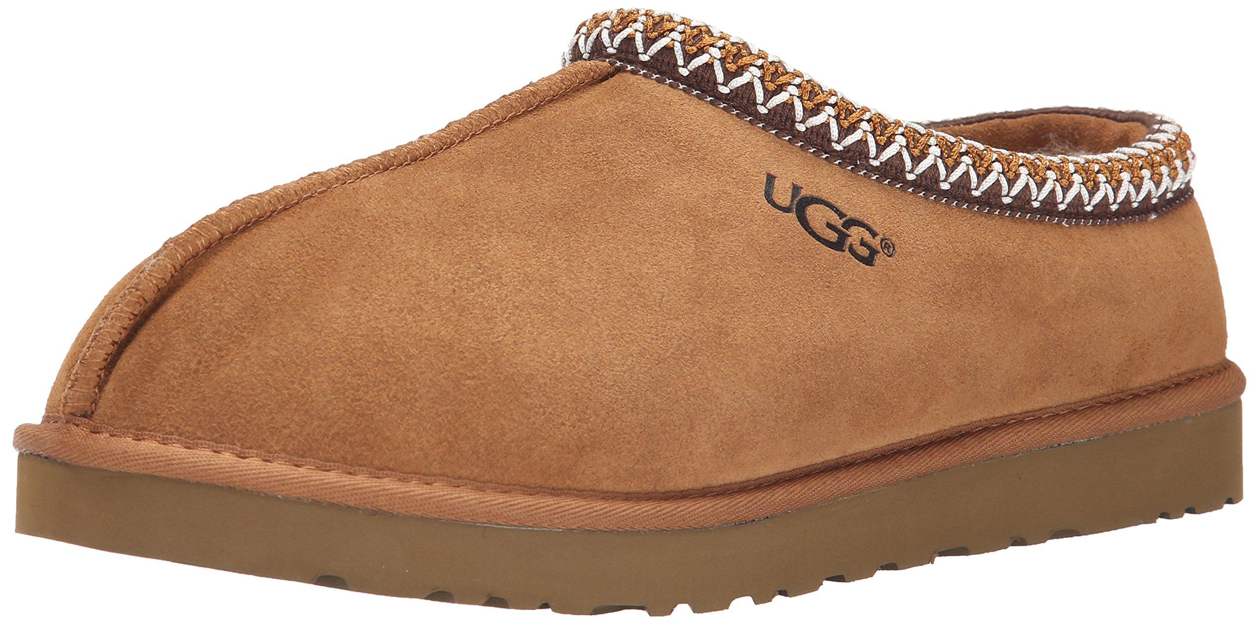 UGG Australia Men's Tasman Chestnut Suede Slippers - 10 D(M) US