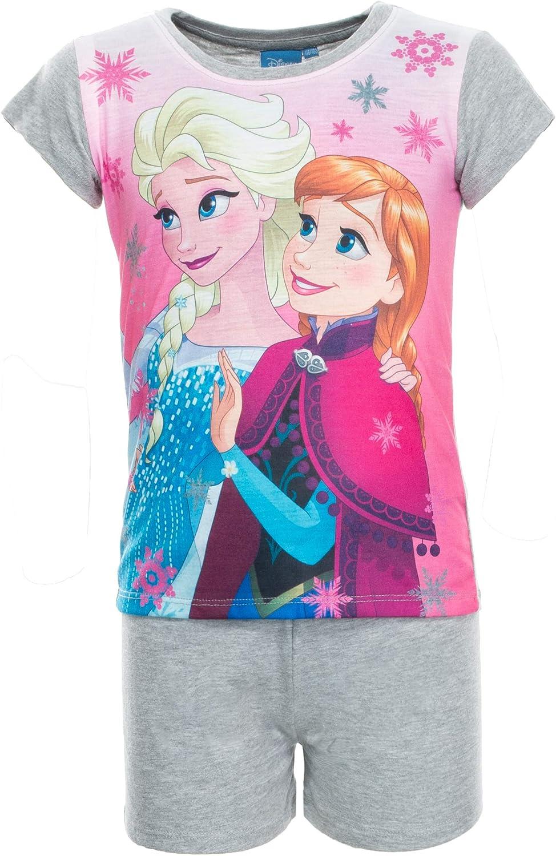 Pink//Rosa Brandsseller M/ädchen Schlafanzug Pyjama Freizeitanzug Set