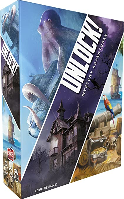 Asmodee Unlock Mystery Adventures Scunl02fr Amazon Fr Jeux Et Jouets