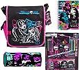 Monster High Filled School Messenger Bag.