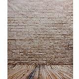 Mohoo Fotohintergrund Fotografie Stoffhintergrund Stoff Hintergrund Mit Brick Serie Thema 1.5 * 2.1m
