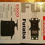 Amazon.com: Futaba S3003 Standard Servo: Toys & Games
