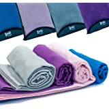 Quick Dry Sports + Travel Towel – Lightweight – Highly Absorbent – Compact – Soft Microfibre – Large – Includes Storage Bag