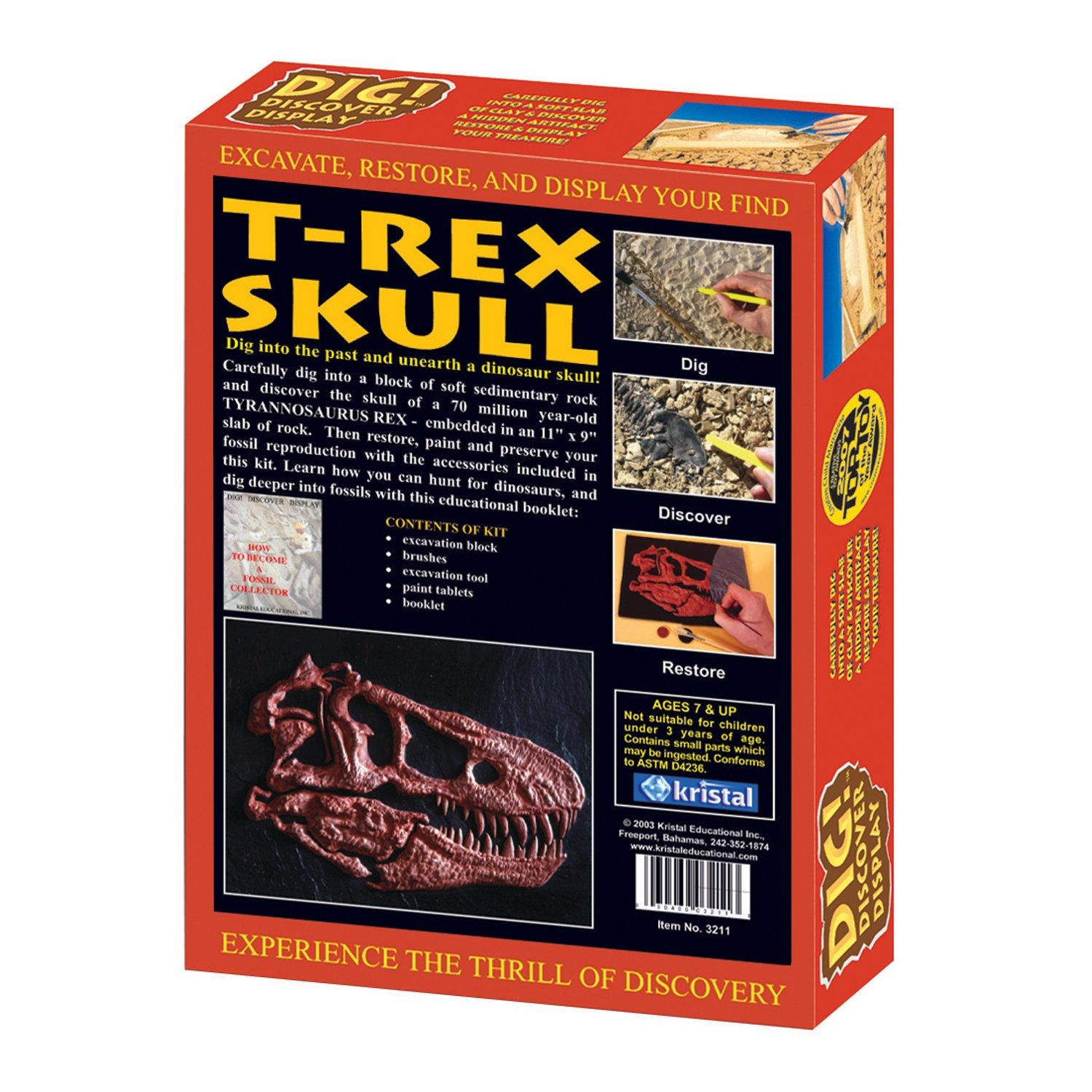 Dig! Discover T-Rex Skull