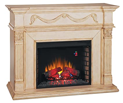 Amazon Com Classicflame 28wm184 T408 Gossamer Wall Fireplace Mantel