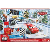 Disney and Pixar Cars Minis Advent Calendar, One A Day Storytelling Racecar Accessories and Surprises, Family Christmas…