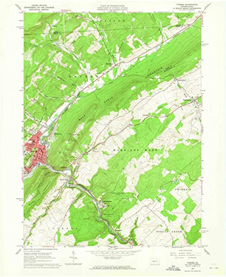 Amazon.com : YellowMaps Tyrone PA topo map, 1:24000 Scale ... on map of new paris pa, map of loganville pa, map of shamokin dam pa, map of upper st clair pa, map of throop pa, map of narberth pa, map of berkshire pa, map of wilburton pa, map of lawrence park pa, map of newry pa, map of point marion pa, map of saint marys pa, map of mahaffey pa, map of schellsburg pa, map of mount union pa, map of armagh pa, map of russellton pa, map of madison pa, map of norwood pa, map of spring mills pa,