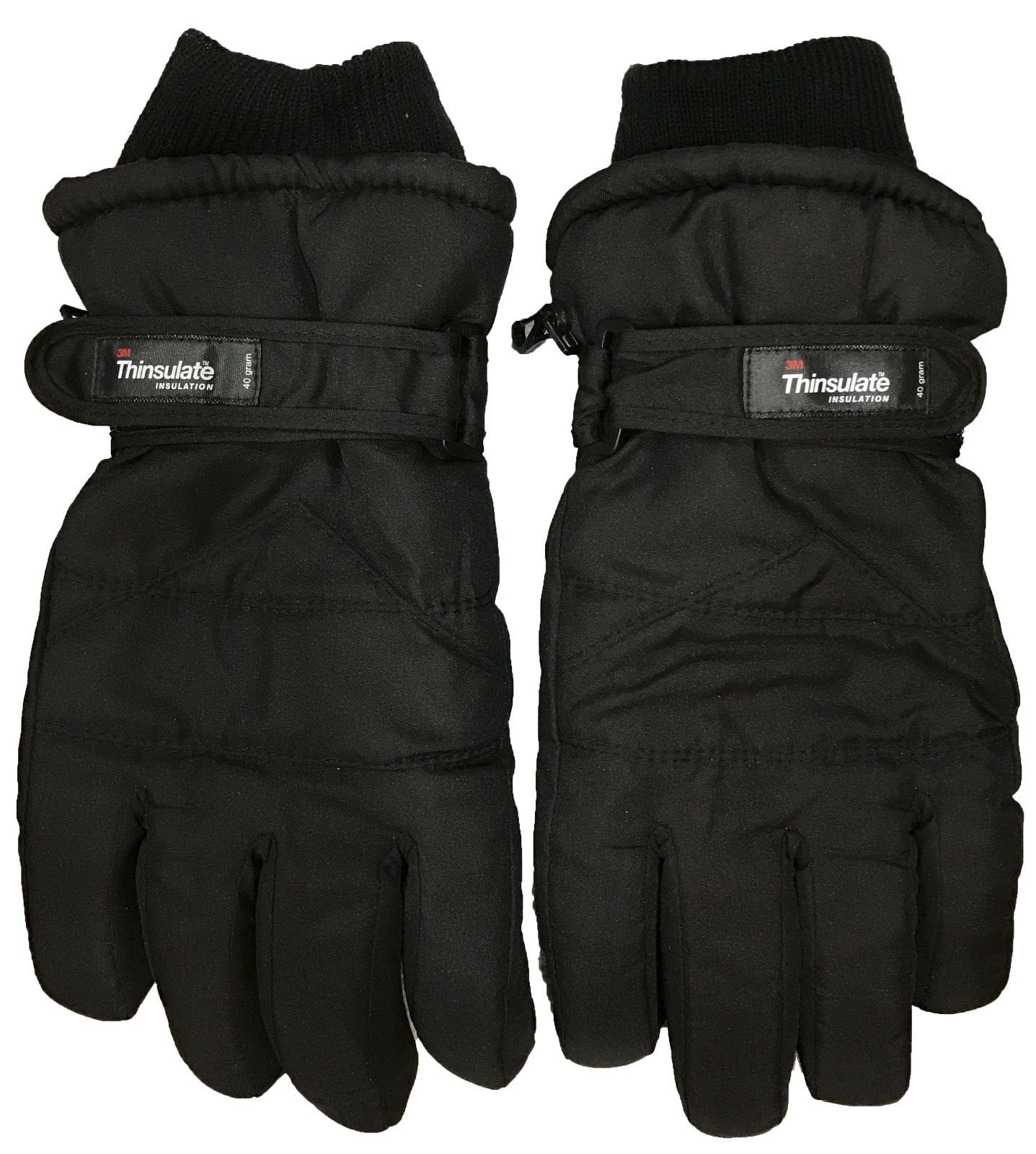 Men Extreme Cold Weather 3M Thinsulate Insulation Ski Gloves (XL) by energi8_dir