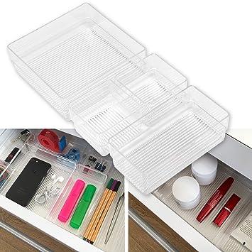 Hausfelder ORDNUNGSLIEBE Schubladen Organizer (4-teiliges Set ...