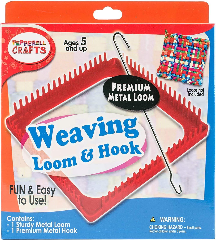 Metal Pink Loom /& Hook Set