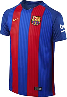e65a11bb2b0 Amazon.com   Nike Barcelona Home Messi Jersey 2017 2018 (Official ...