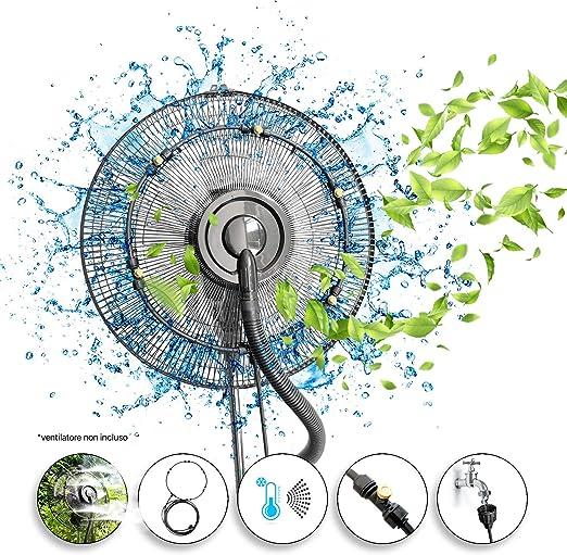 Dardaroga - Kit pulverizador de jardín de exterior para ventilador ...