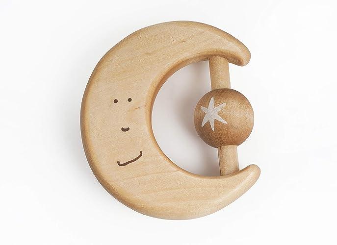 Babyrassel Baby Holzspielzeug 3 Monate Neue Geboren Geschenk