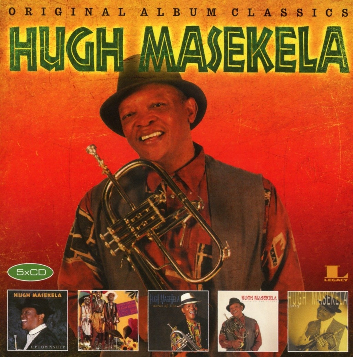 Hugh Masekela - Original Album Classics (Holland - Import, 5PC)