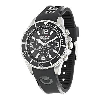 meilleur service 63347 7289a Sector Montre Homme Chronographe Quartz avec Bracelet en Plastique –  R3251161002